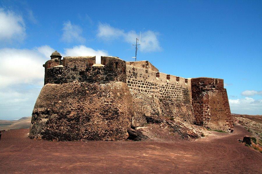 Castillo De Santa Barbara Buntereisebilder